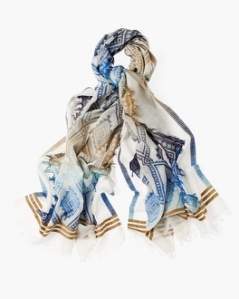 Chico's Ombre Diamond Scarf at Chico's in Brooklyn, NY | Tuggl