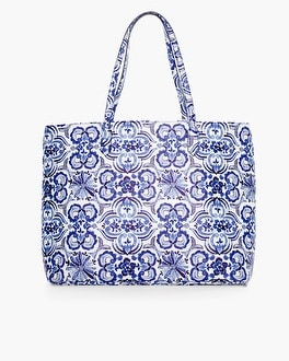 Chico's Indigo Ink Tote at Chico's in Brooklyn, NY | Tuggl