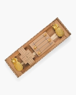 Chico's Pineapple Cheese Board Set | Tuggl