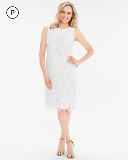 Chico's Petite Lace Dress at Chico's in Brooklyn, NY | Tuggl