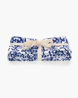 Chico's Indigo Ink Napkins Set | Tuggl