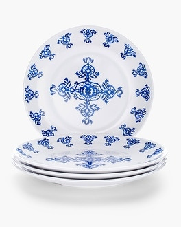 Chico's Grecian Tile Large Plate Set | Tuggl