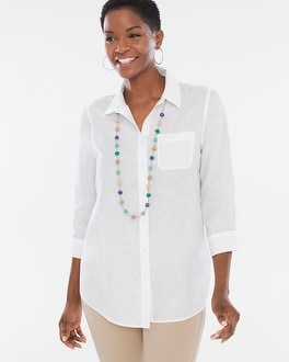 Chico's Linen Shirt | Tuggl