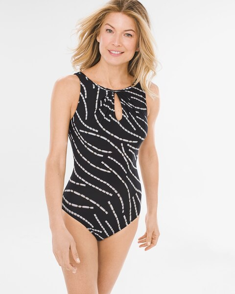 Chain Reaction One-Piece Swimsuit