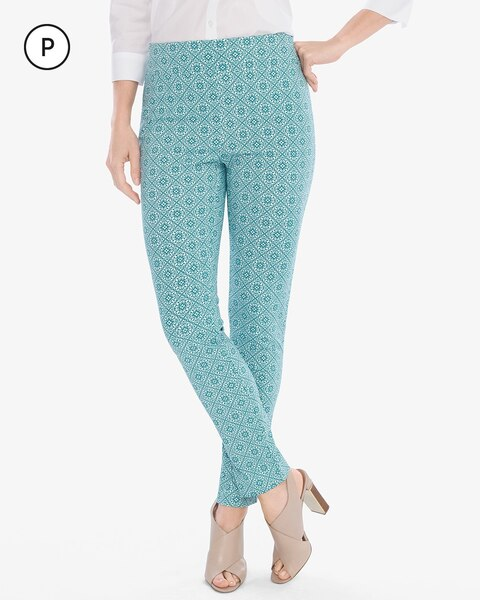 Brigitte Cool Medallion Ankle Pants