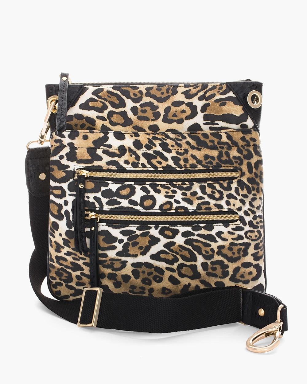 Cheetah Crossbody Bag - Chico s c3fe3f2ec43ed
