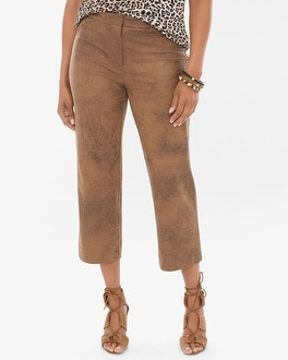 Chico's Sueded Wide Crops at Chico's in Auburn, GA | Tuggl