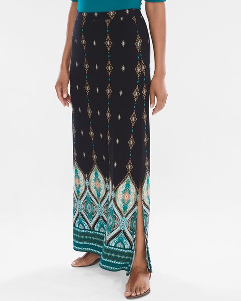 7c9102facc Return to thumbnail image selection Lantern-Print Maxi Skirt video preview  image, click to start video