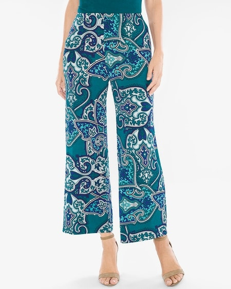 travelers classic paisley crops