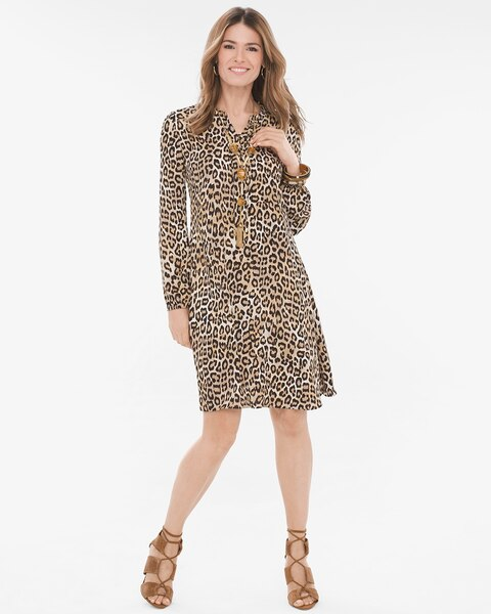 eb8548b276 Leopard-Print Dress - Chico s