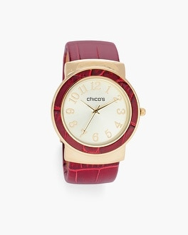 Chico's Merlot Watch | Tuggl
