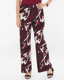 Chico's Abstract Floral Palazzo Pants at Chico's in Auburn, GA | Tuggl