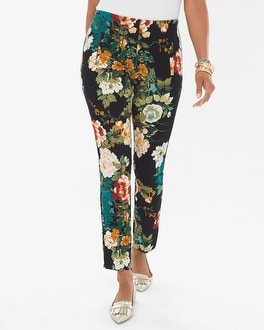 Chico's Juliet Floral Ankle Pants | Tuggl