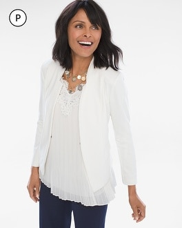 Chico's Petite Ponte Jacket at Chico's in Auburn, GA | Tuggl