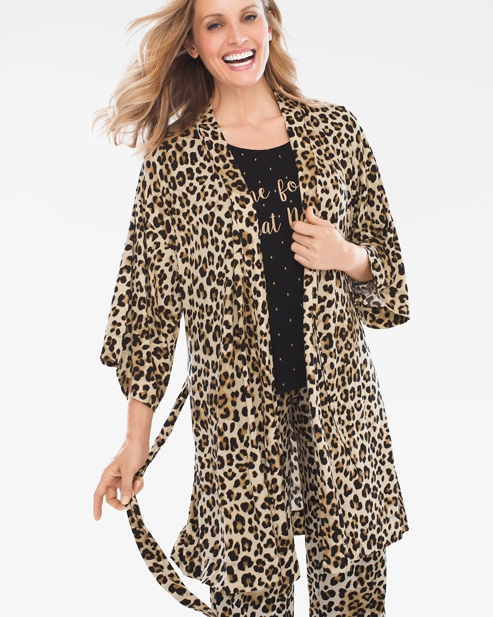 Leopard-Print Robe - Chico s 2259b0b18