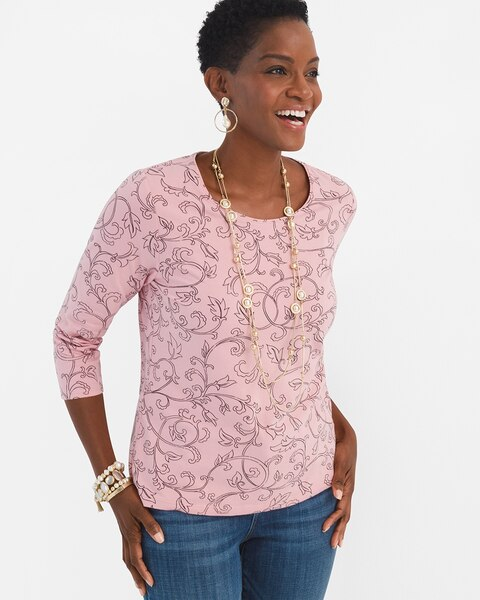 c48e299b Living Beyond Breast Cancer Top - Chico's