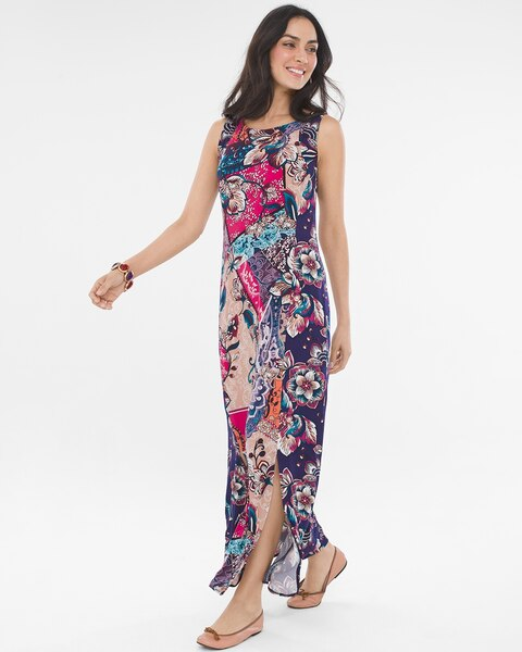 5780686135 Return to thumbnail image selection Patchwork Maxi Dress video preview  image