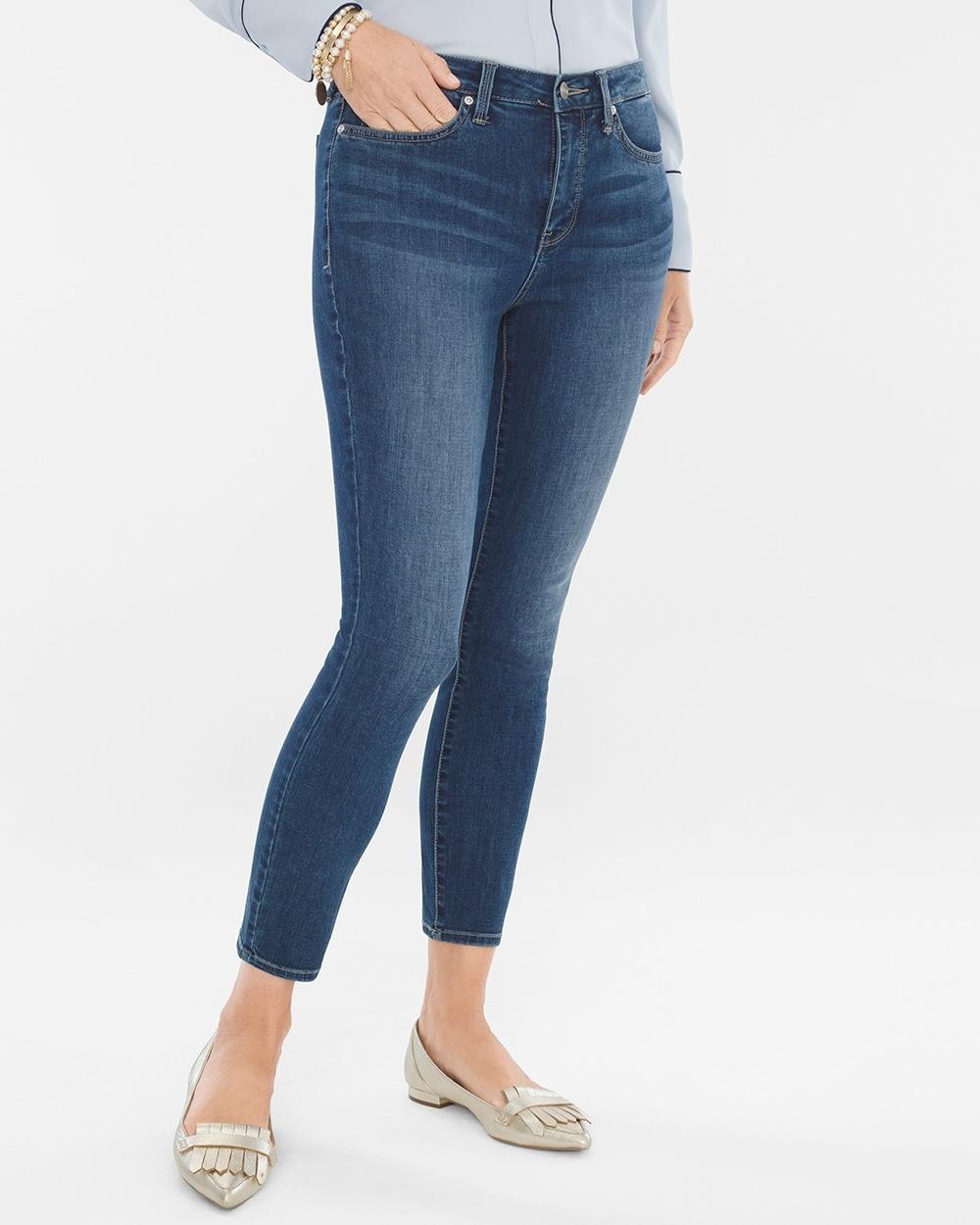 ostaa paras klassinen istuvuus tunnetut tuotemerkit Cool Control Skinny Ankle Jeans