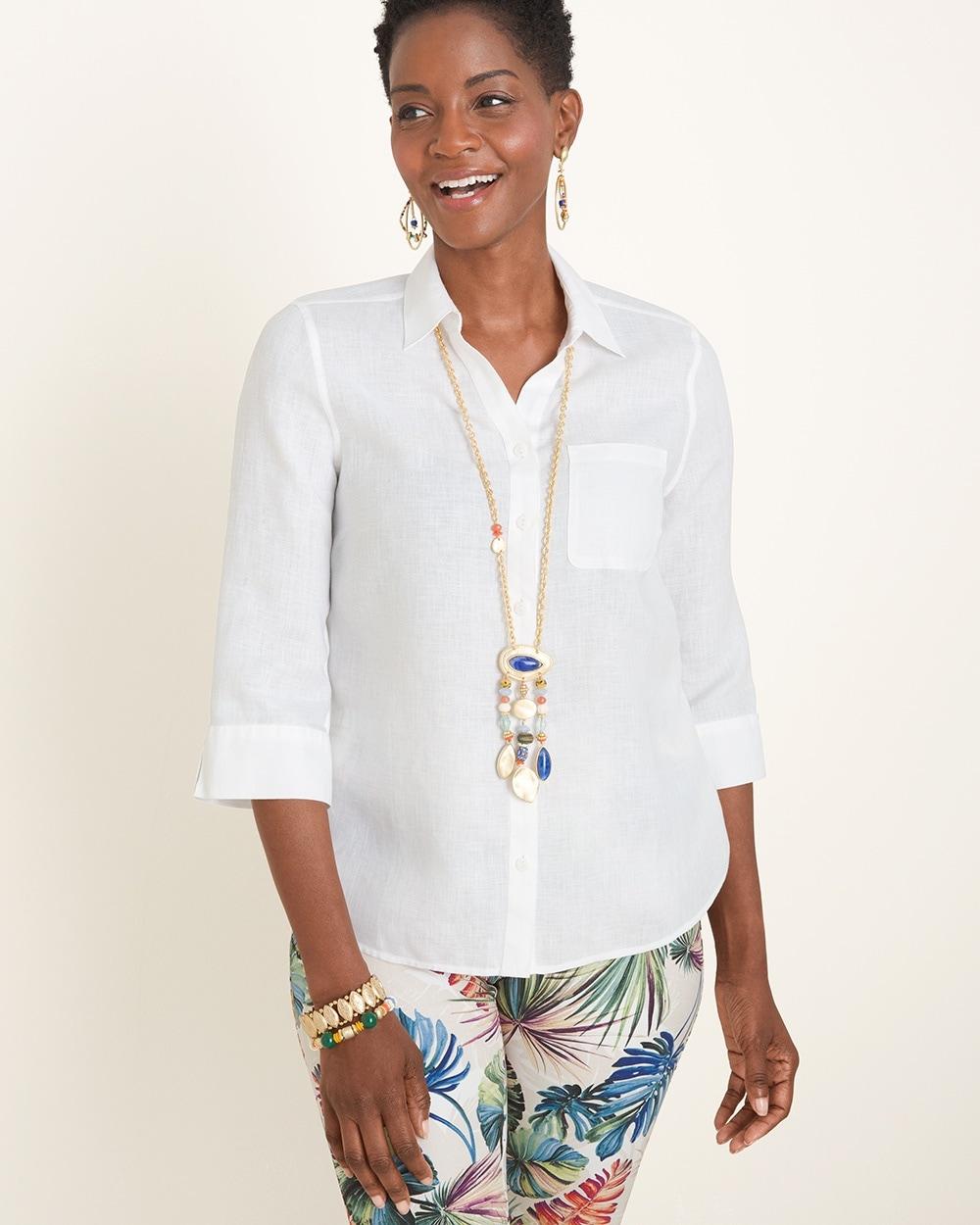 aae7c27b9e8b Linen Shirt - Chico's