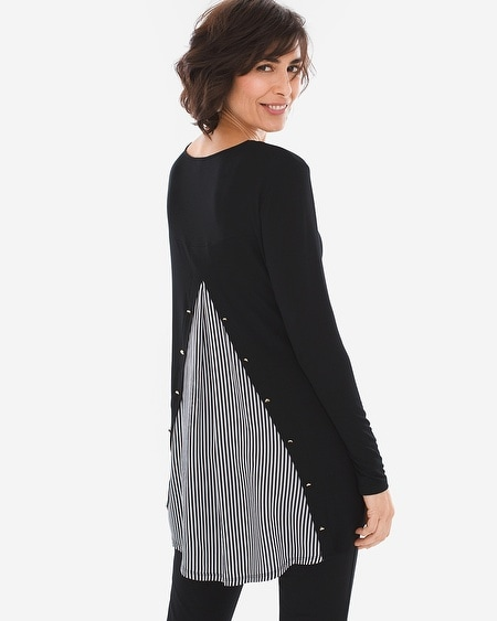Striped Back On Tunic