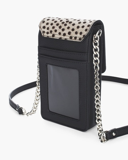 1c69c49220 Black Dot Haircalf Crossbody Cell Phone Case