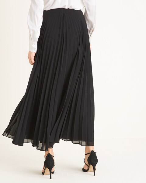 8278bb33c Solid Pleated Maxi Skirt - Chico's