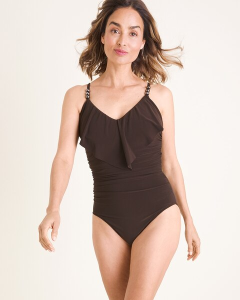23834318b5ebf Solid Isabel One-Piece Swimsuit - Chico's
