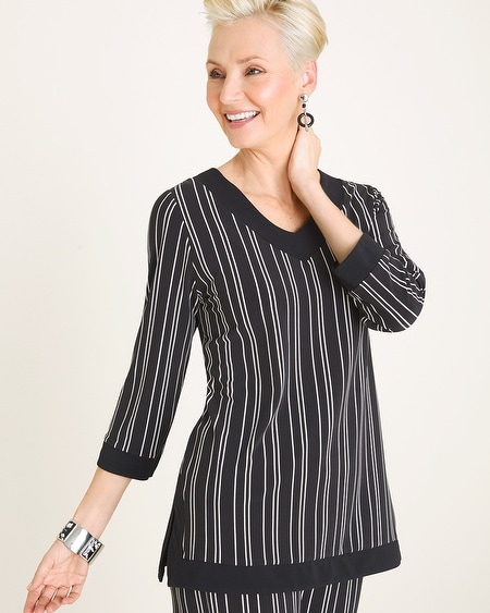 844b979f48a Travelers Collection Striped Tunic