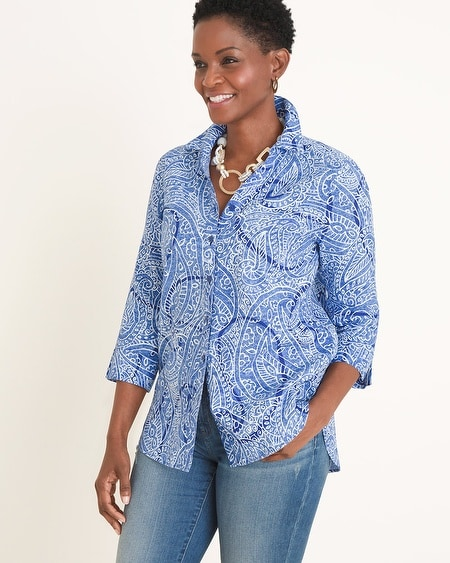 ed4d45cd037 Collections - Women's No-Iron Shirts - Chico's