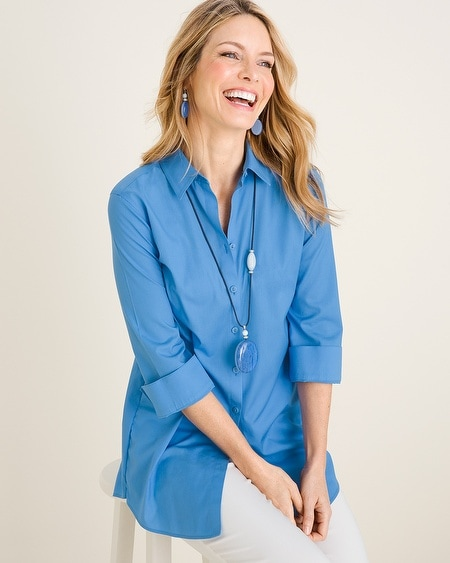 d4597a7c Collections - Women's No-Iron Shirts - Chico's
