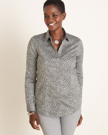 Image 8 of ANIMAL PRINT SHIRT from Zara | Must Have Luxuries