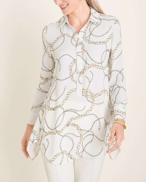Chain Print Tunic by Chico's