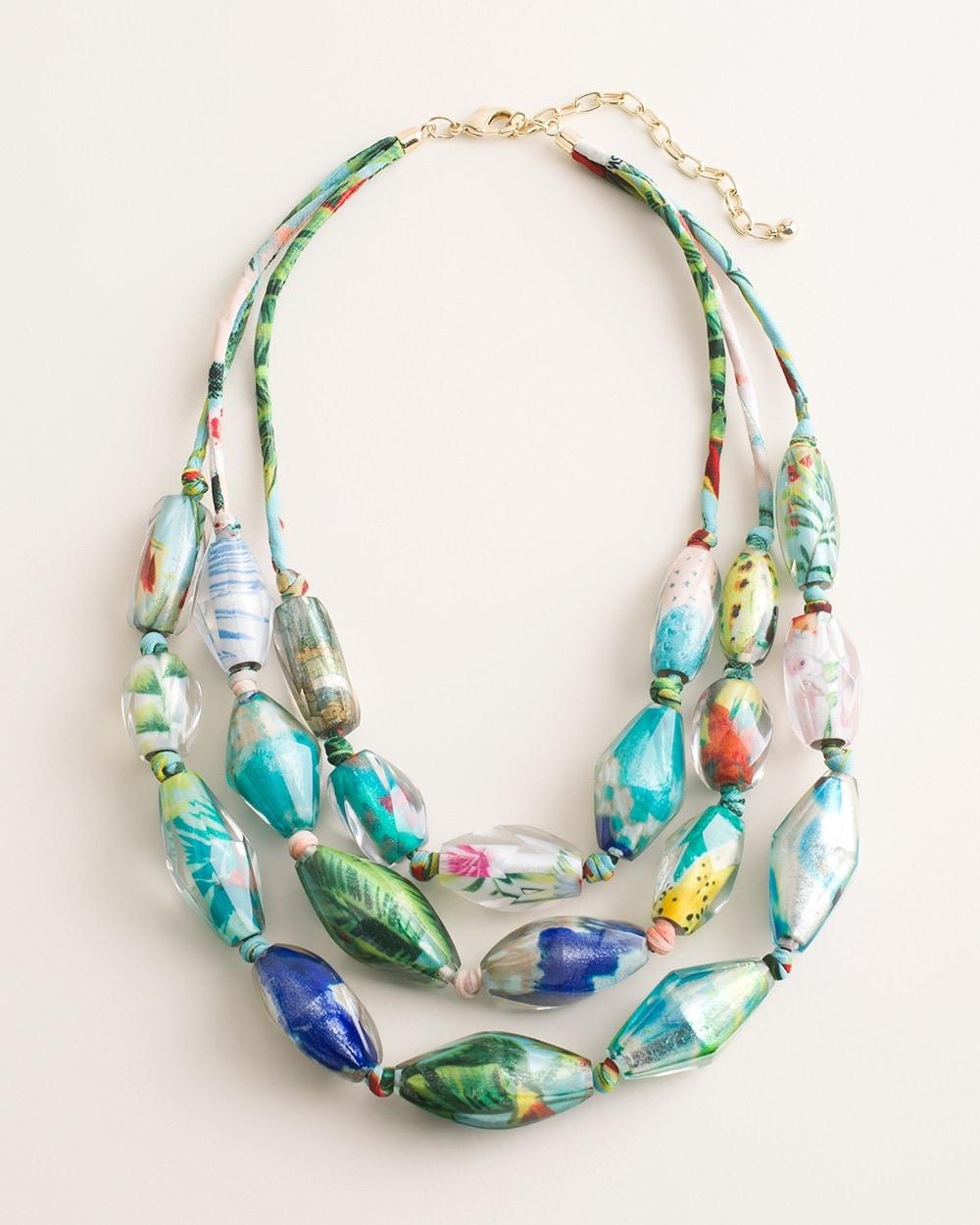 Vibrant Multi-Strand Necklace