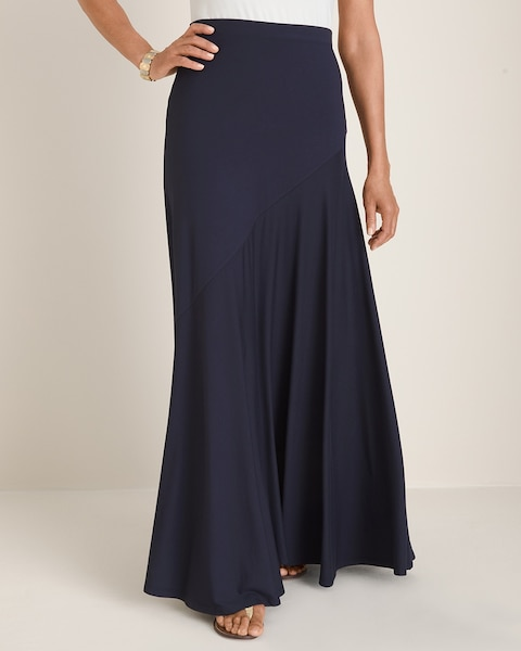 Chico's Solid Maxi Skirt
