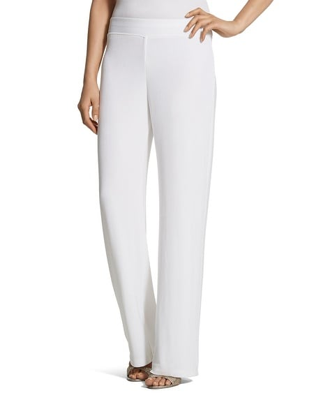 Travelers Classic Essential Wide-Leg Pants