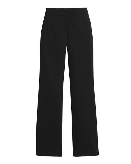 Wide-Leg Ponte Trouser Pants - Chicos