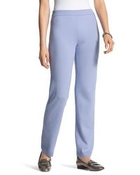 Zenergy Cotton Cashmere Pants in Winter Amethyst