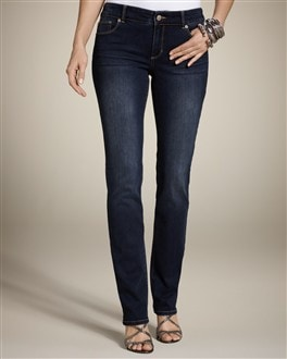 So Slimming By Chico's Luminescent Slim-Leg Jean