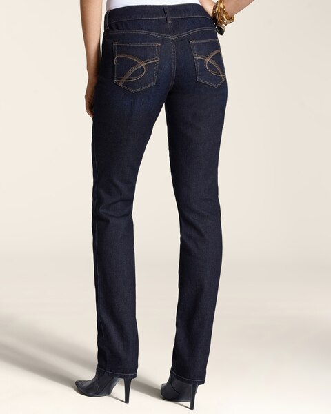 Platinum Denim Slim-Leg Jeans in Pier Blue Wash
