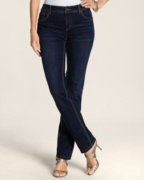 Slim Leg Jeans in Medium Vintage Wash