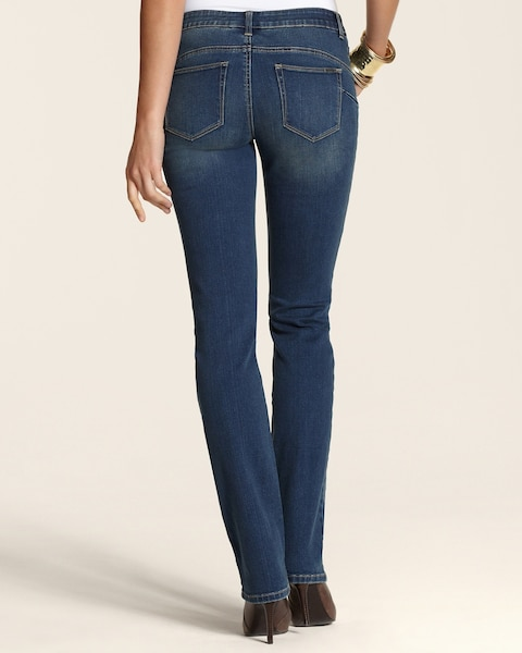 So Lifting Stormy Night Slim-Leg Jeans