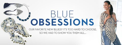 Blue Obsessions | Our Favorite New Blues? It's hard to choose. So we had to show  you them all...