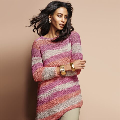 Sweaters - Airy knits and light cardigans in a fresh palette of colors and prints for the season ahead.