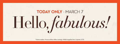 Hello Fabulous: One Day Party Favors
