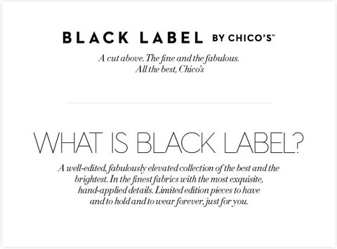 What Is Black Label?