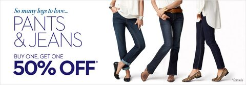 Pant & Jean Offer