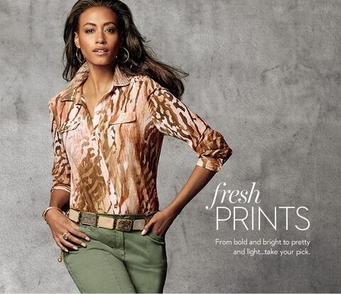 Fresh Prints | From bold and bright to pretty and light...take your pick.