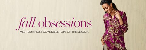 Tops | Fall obsessions | Meet our most covetable tops of the season