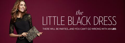 The Little Black Dress, There will be parties ... and you can't go wrong with an LBD.