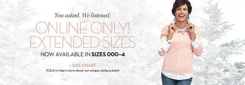 Online Only Extended Sizes! |  Now available in sizes 000 - 4 | Size